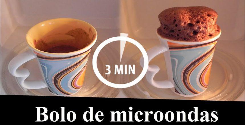 Bolo de caneca ( microondas )