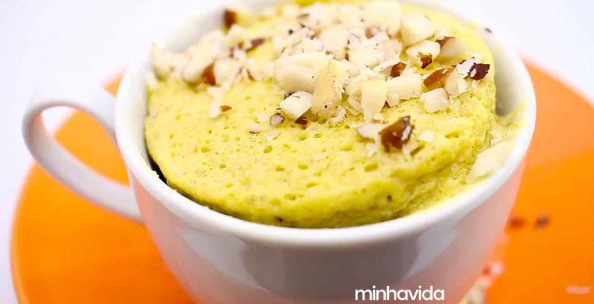 Bolo de pasta de amendoim de caneca | RECEITA 1 MINUTO