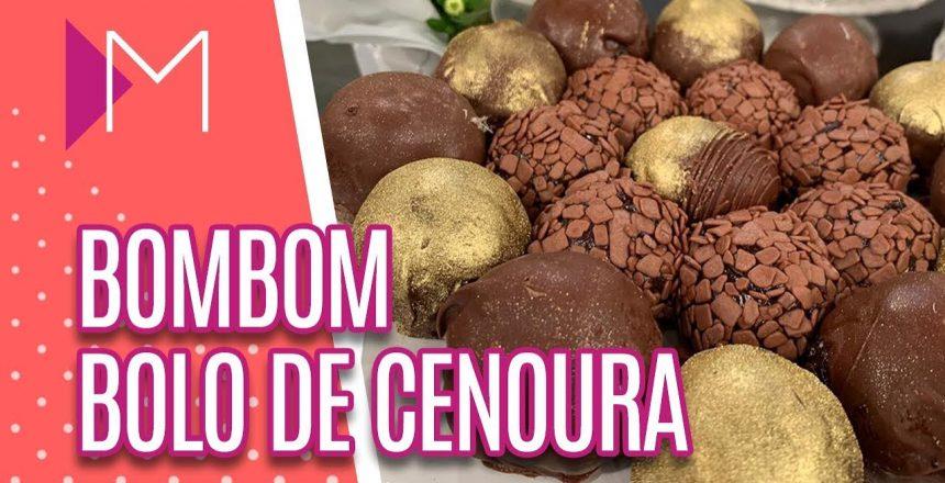 Bombom bolo de cenoura - Mulheres (28/03/2019)
