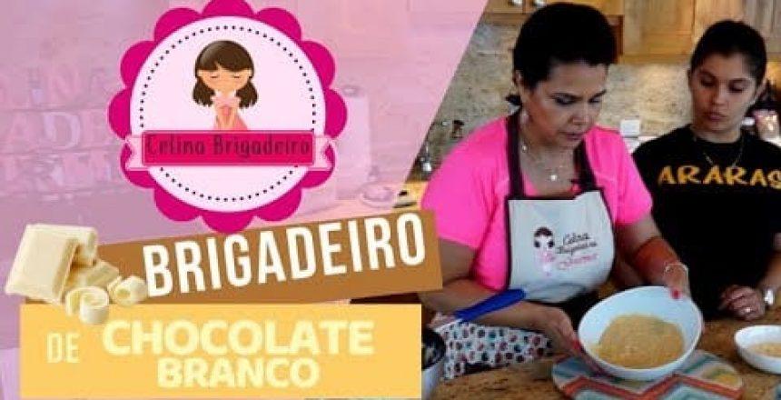 Brigadeiro Gourmet de CHOCOLATE BRANCO