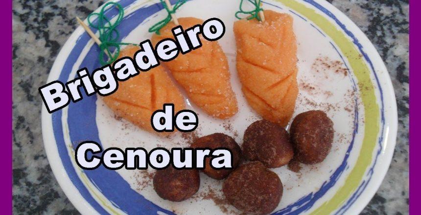 Brigadeiro de Cenoura #Especial Páscoa