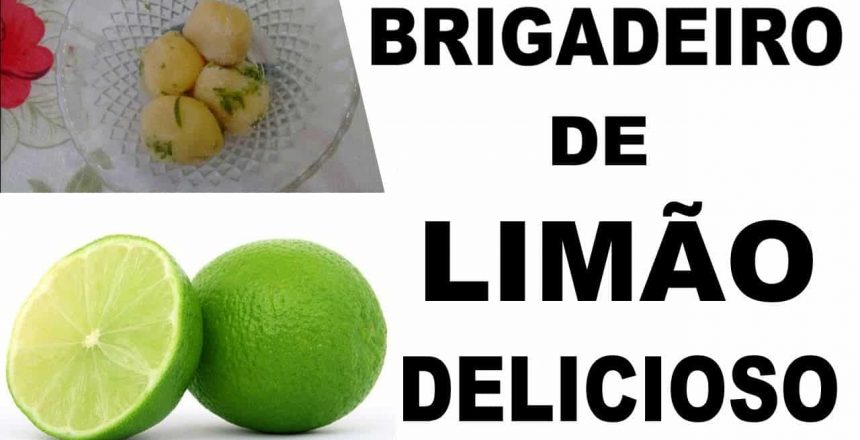 Brigadeiro de Limão no Ponto Certo para Enrolar