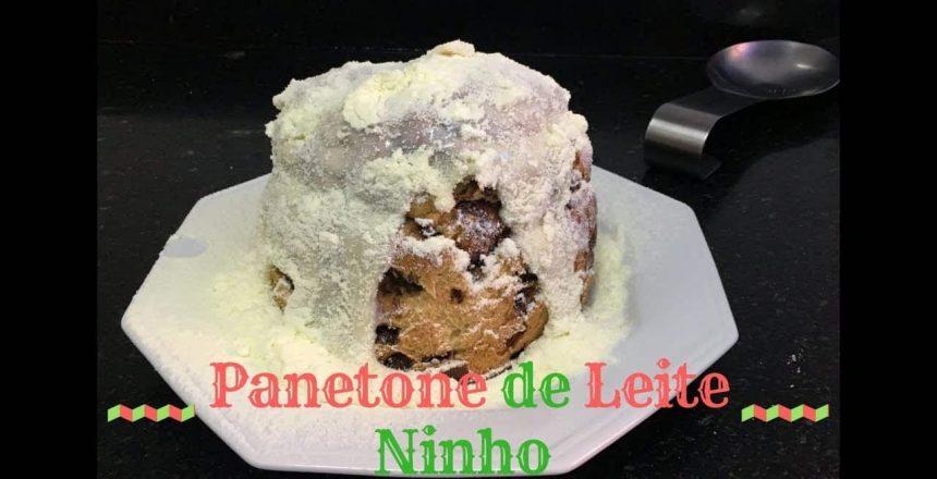 CHOCOTONE TRUFADO DE LEITE NINHO  | Especial de Natal | Sal & Pimenta #04