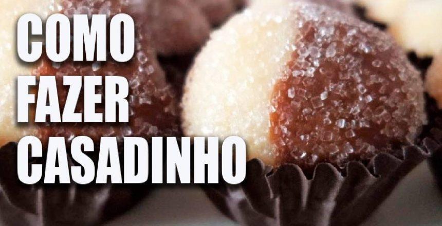 COMO FAZER CASADINHO BRIGADEIRO DE CHOCOLATE BRANCO E PRETO