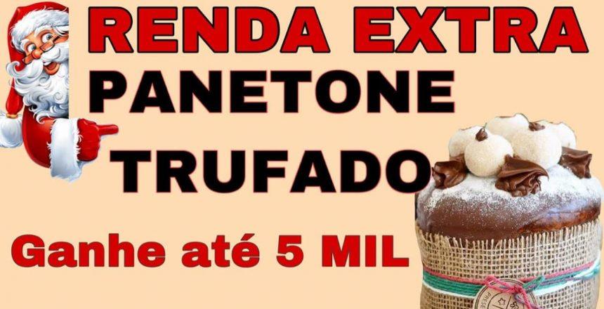 COMO FAZER PANETONE - DICA RENDA EXTRA - RECEITA DE PANETONE TRUFADO