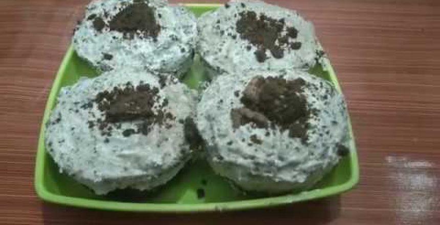 COOKIES & CREAM OREO CUPCAKE RECIPE | SWEET TREATS | OREO CUPCAKE |