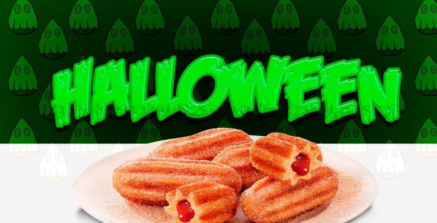 Churros de Halloween com as Máquinas da MCI   FESTA NA COZINHA #23