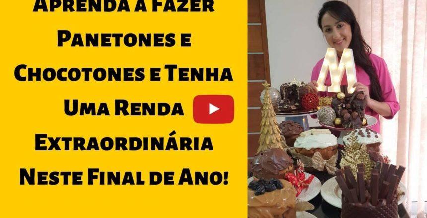 Como Fazer Panetone e Chocotone de Chocolate Caseiro 2019