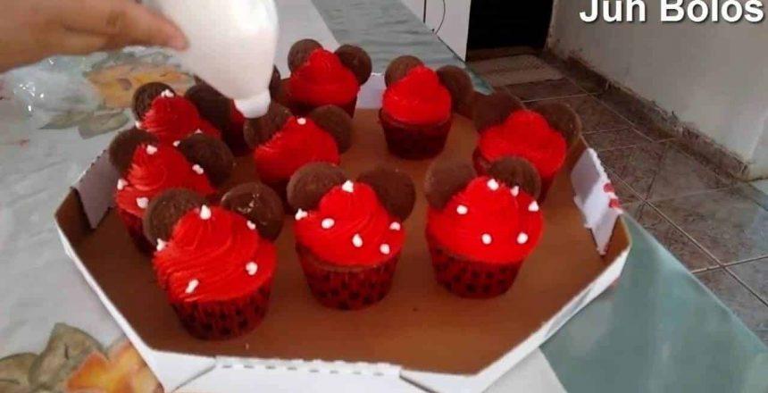Como decorar Cupcake Minnie