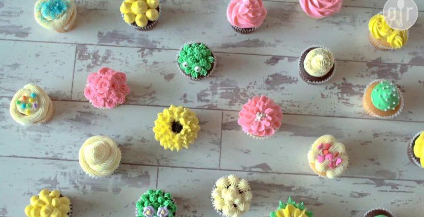 Cómo decorar cupcakes