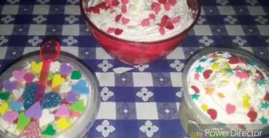 Como fazer bolo de taça ou pote, indicados para crianças.