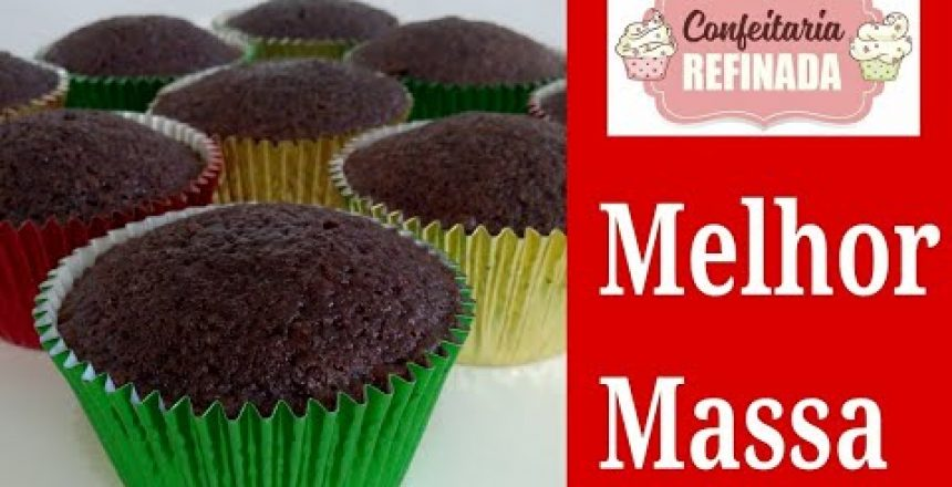 Cupcake de Chocolate/ Massa úmida e saborosa #500 mil inscritos Vídeo todo dia!!!