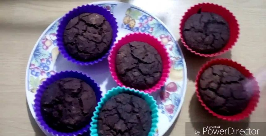 Cupcake de Chocolate fit | Sem Glúten | Sem Lactose. Veda #1