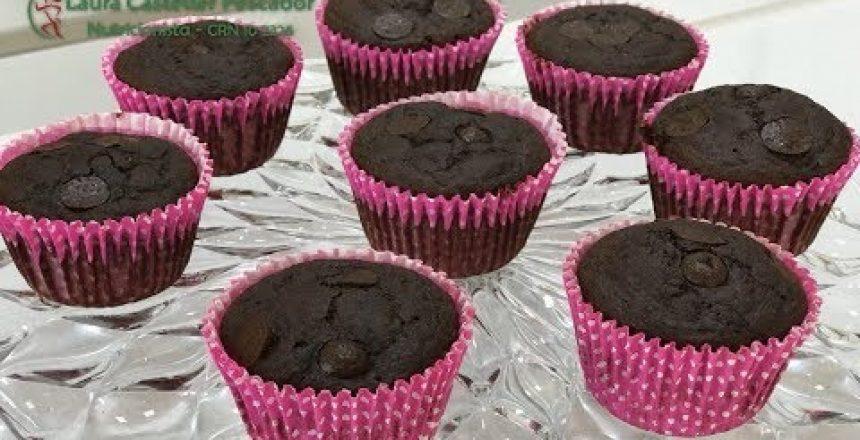 Cupcake de chocolate: Especial do dia das Crianças