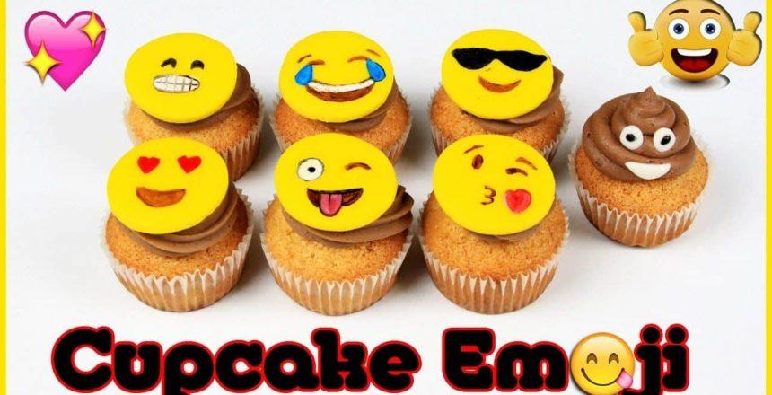 Cupcake de emoji | Como Fazer Cupcakes de Emoji | Emoji Cupcakes | Cakepedia