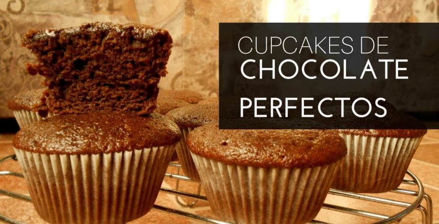 Cupcakes de Chocolate Perfectos Paso a Paso | CupcakeMine