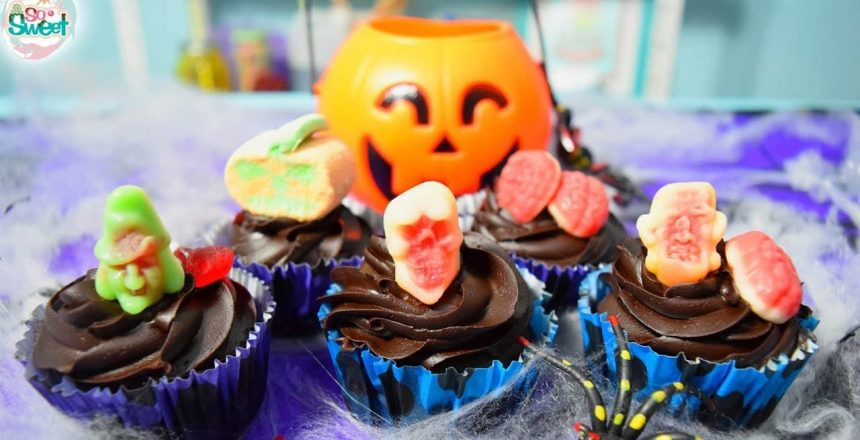 Cupcakes de chocolate HALLOWEEN | So Sweet