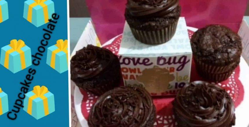 Cupcakes de chocolate deliciosos y faciles