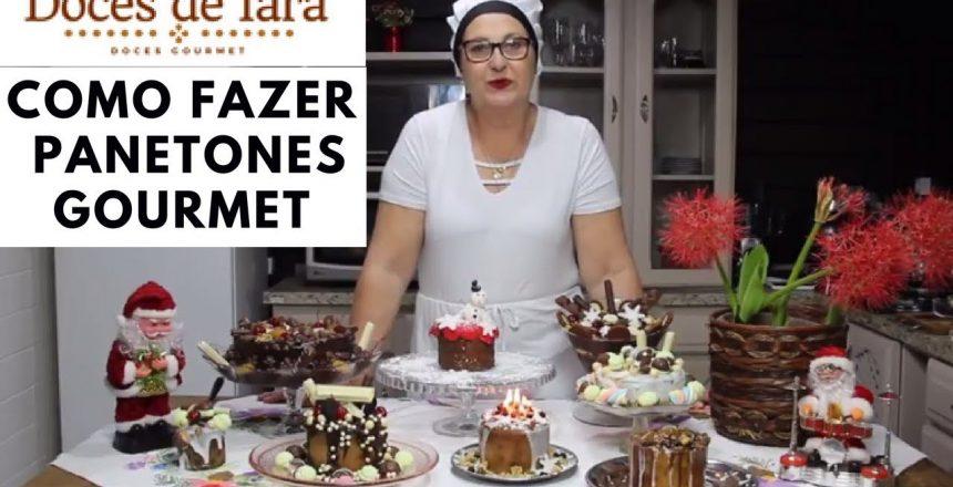 Curso de Panetones Gourmet - Como Fazer Panetone Gourmet Recheado