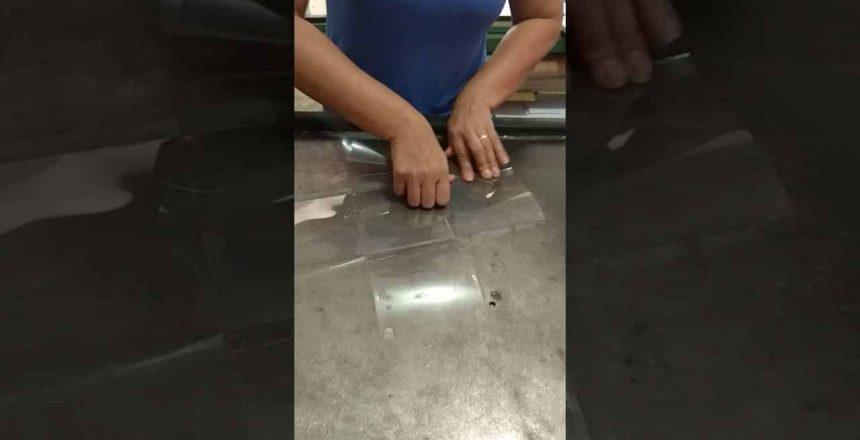 D Montagem Caixa para Panetone corpo PVC
