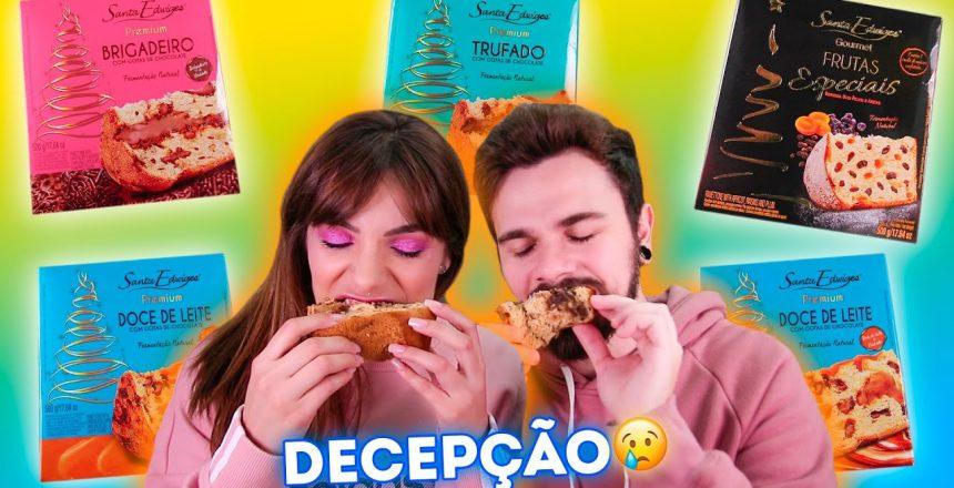 DECEPÇÃO! PROVANDO PANETONES do MERCADO 2019