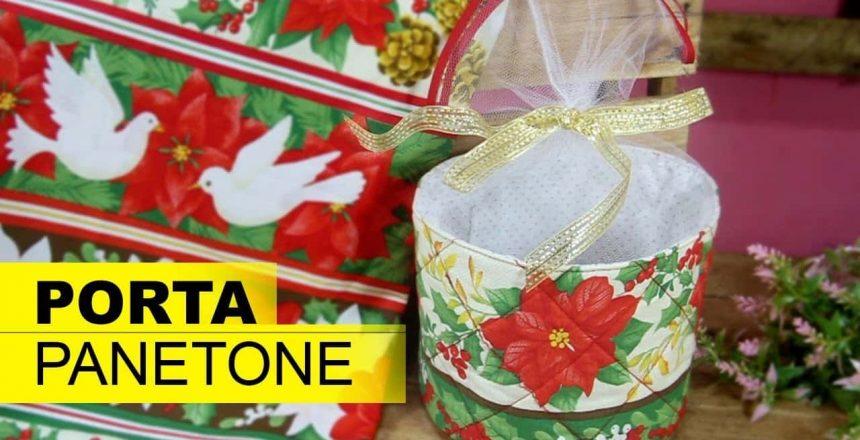DIY# APRENDA A FAZER PORTA PANETONE - DiY  Gabi Reis