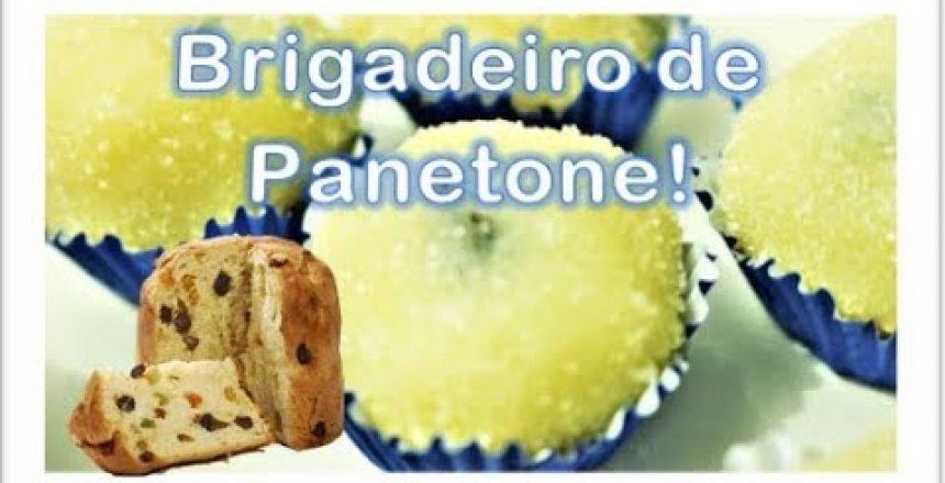 DOCE HANNA - Brigadeiro de PANETONE!! FELIZ NATAL!!