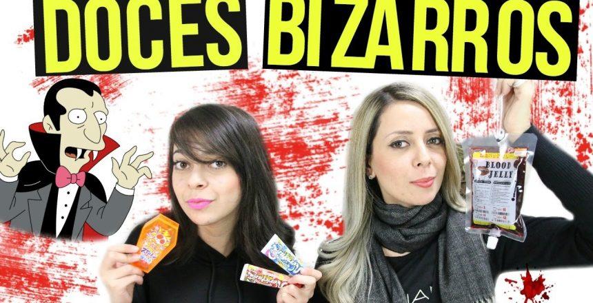 DOCES BIZARROS | BOLSA DE SANGUE - BALAS NO CAIXÃO