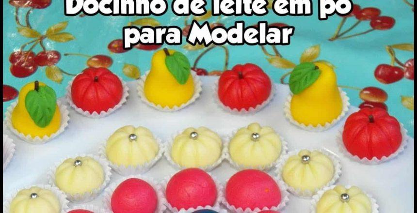 DOCINHO DE LEITE EM PÓ PARA MODELAR - Bru na Cozinha