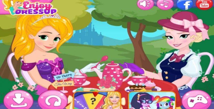 Disney Princess Cupcake Surprise for Elsa & Anna Disney Frozen Party Game