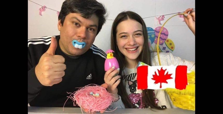 EXPERIMENTANDO DOCES DE PÁSCOA CANADENSES