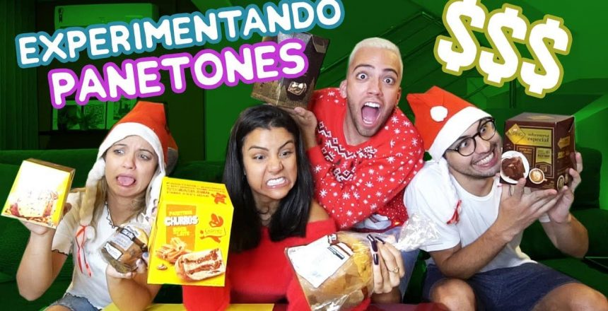 EXPERIMENTANDO PANETONES: CAROS x BARATOS!!! #NatalDosFlops