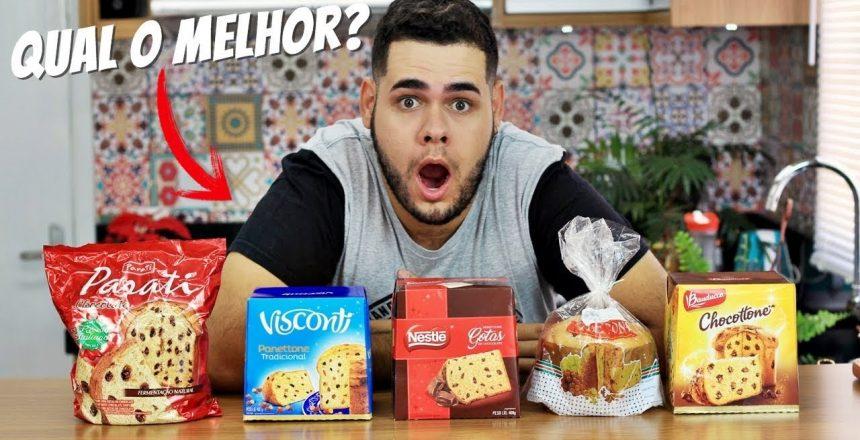 EXPERIMENTANDO PANETONES E CHOCOTONES | QUAL SERA O MELHOR?