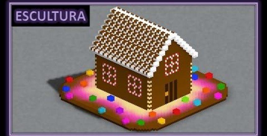 Escultura - Casa de Doces (minimundos)