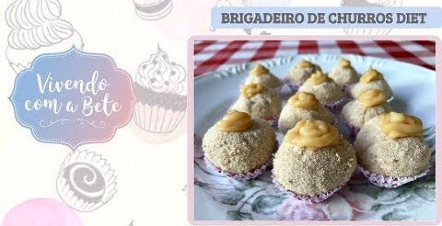 Especial Festa Junina | Brigadeiro de Churros Diet