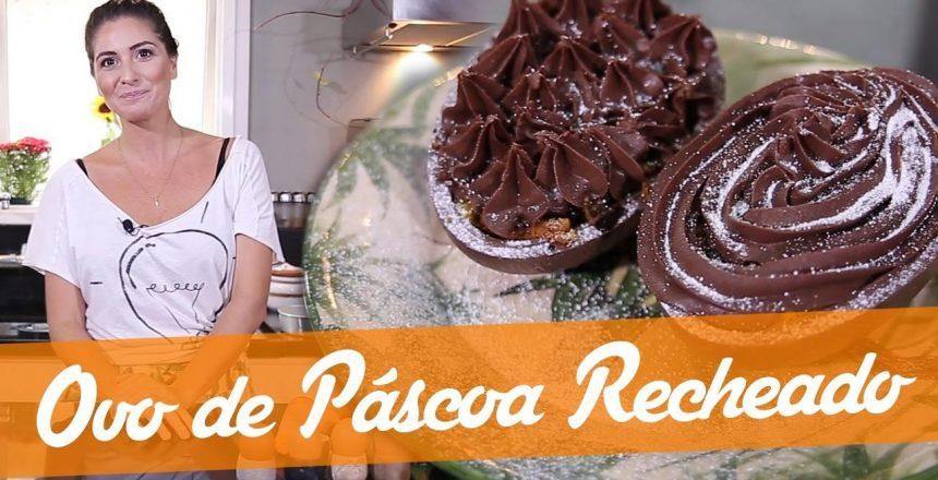 Especial: Ovo de Páscoa com Recheio Bolo de Cenoura (Super Fácil) - Carol Fiorentino - Ovo de Pascoa