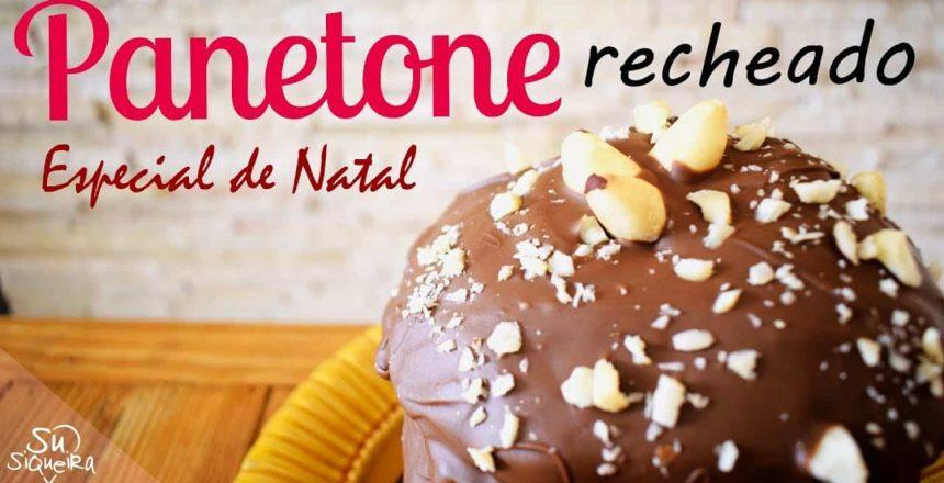 Especial de Natal #1 - Panetone com Nutella