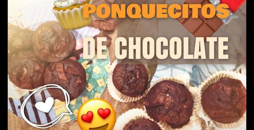 FÁCIL CUPCAKES DE CHOCOLATE SUPER ESPONJOSOS | DeliSoluciones