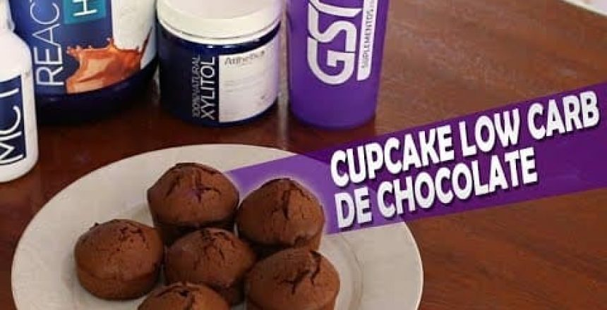 GSN SUPLEMENTOS - Cupcake Low Carb de Chocolate