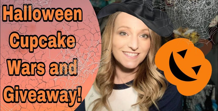 HALLOWEEN CUPCAKE WARS AND GIVEAWAY