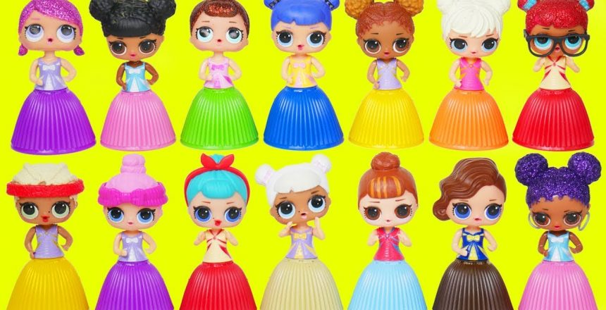 LOL Surprise Dolls Dress Up in Cupcakes