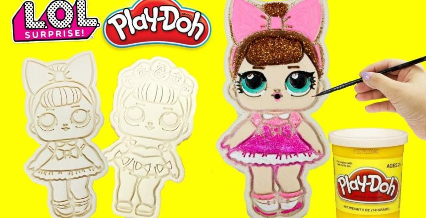 LOL Surprise PLAY DOH Cookies Sugar Queen & Fancy Glitterati Club