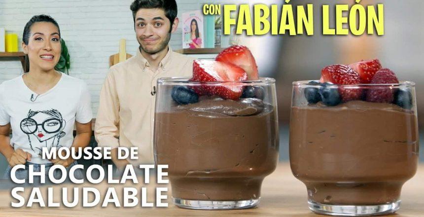 MOUSSE DE CHOCOLATE SALUDABLE Y VEGANA | POSTRE FÁCIL | Quiero Cupcakes!