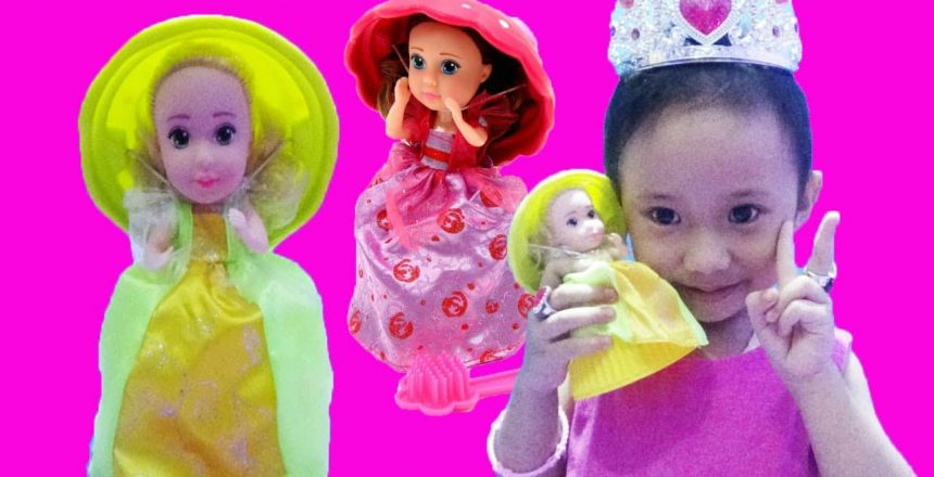 Mainan Anak Princess Cupcake Doll Surprise