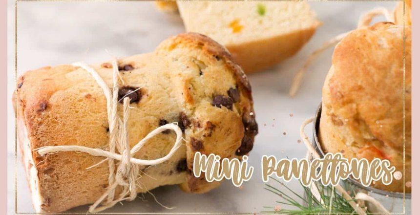 Mini Panettones Navideños| Chokolat Pimienta ♥