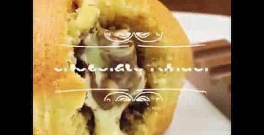 Muffins con chocolate kinder Bueno|Riquísimo