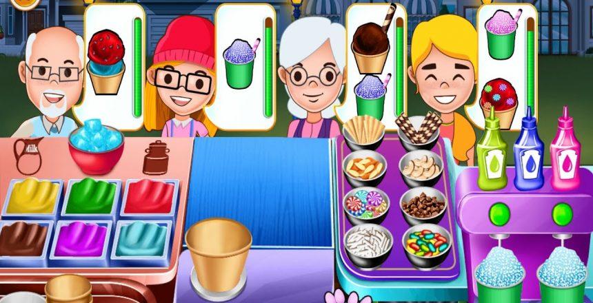 My lceCream Shop - Frozen Desserts Cupcake Cooking Game