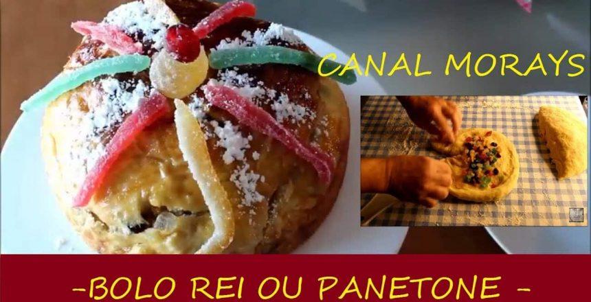 NATAL PANETONE DO BRASIL OU BOLO REI DE PORTUGAL