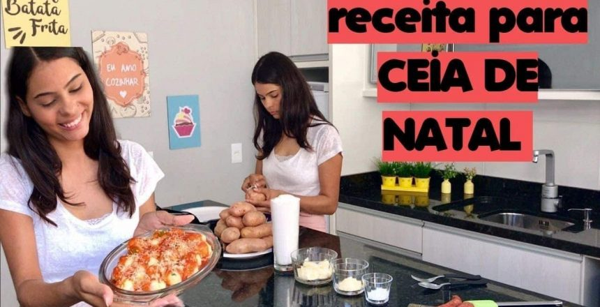 NHOQUE RECHEADO | Receita para CEIA DE NATAL