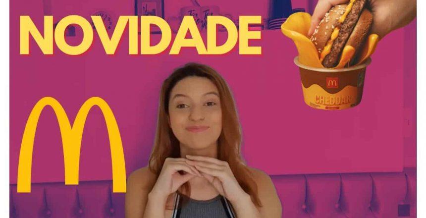 NOVIDADE McDonald's Molho Cheddar No Pote | Mariana Oliveira